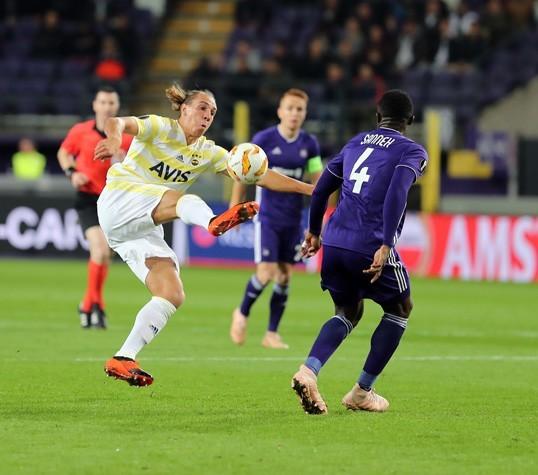 Frey, Anderlecht karşısında ilk resmi golünü attı