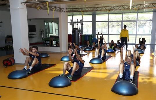 Sivasspor maçı hazırlıkları iki antrenmanla devam etti