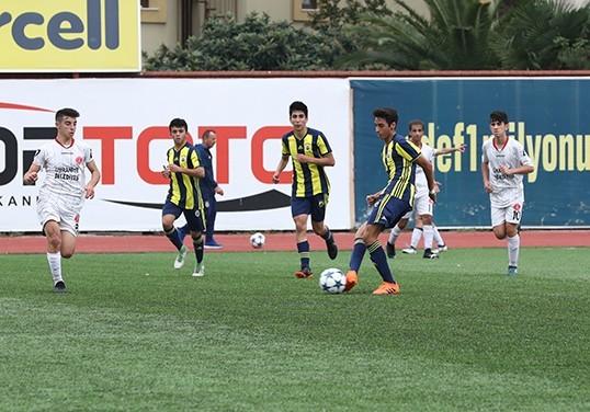 Fenerbahçe altyapı takımlarımız Ümraniyesporla karşılaştı