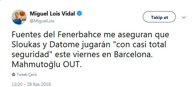 Miguel Lois Vidal tweet