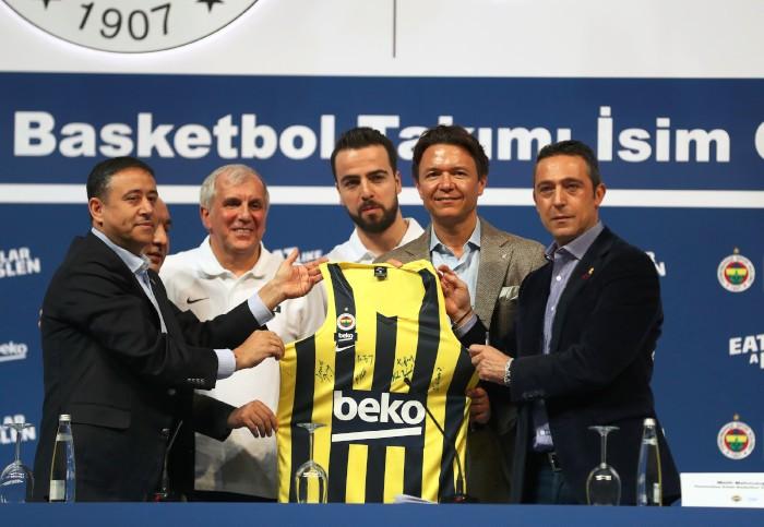 Fenerbahçe BEKO forması tanıtıldı