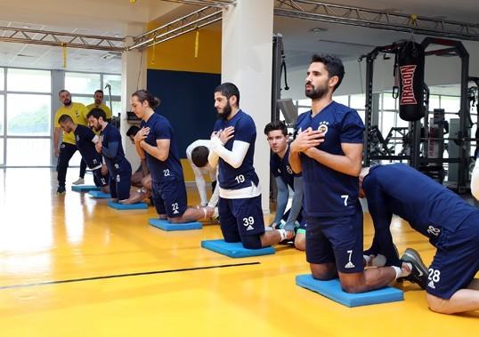 Ümraniyespor maçı hazırlıkları başladı